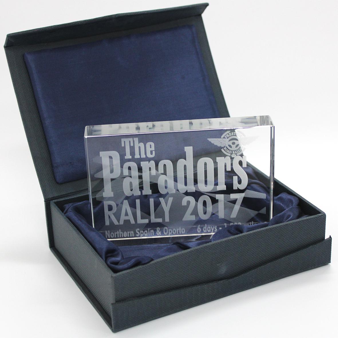 Event Trophy Design