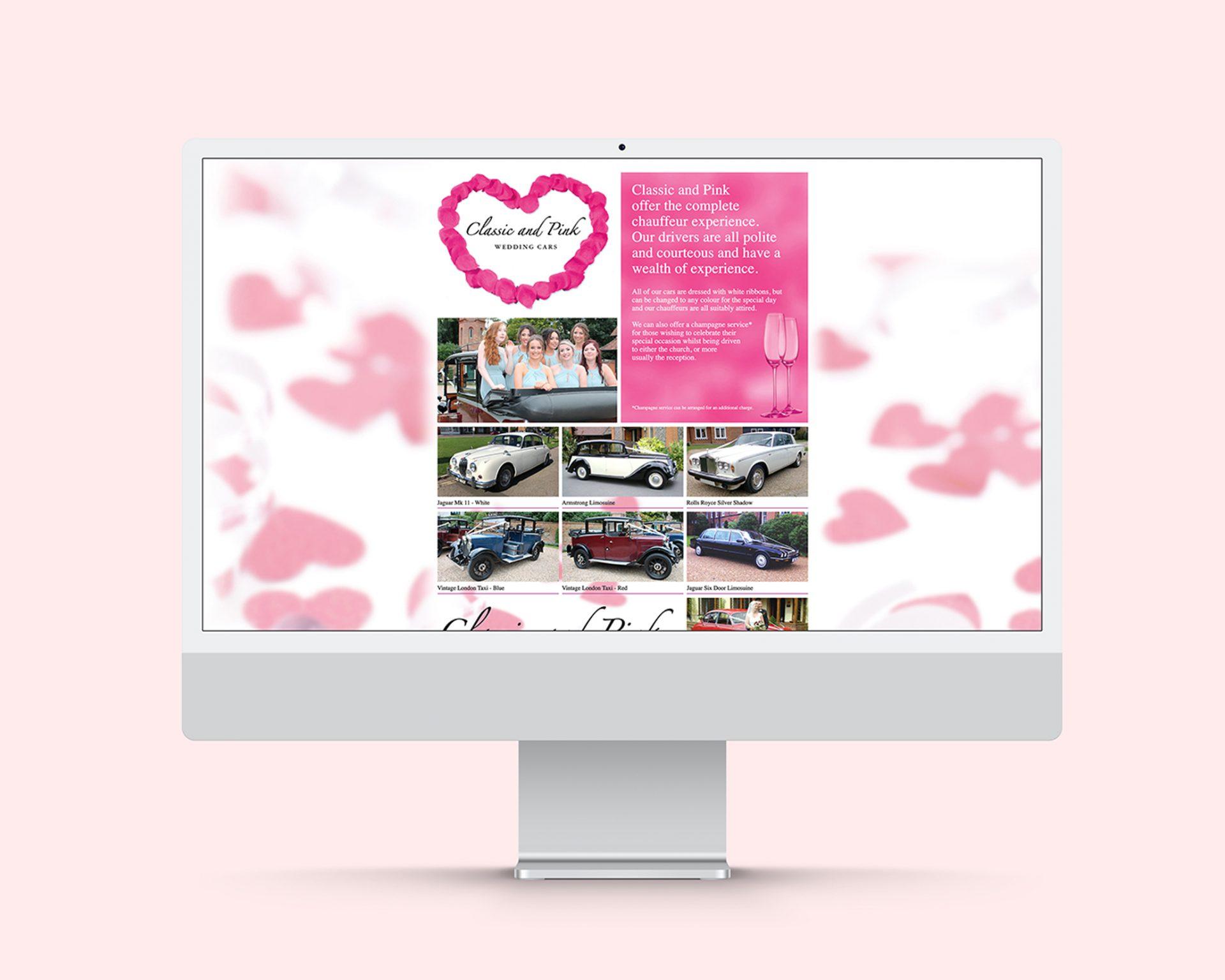 Wedding Car Website Design & Branding