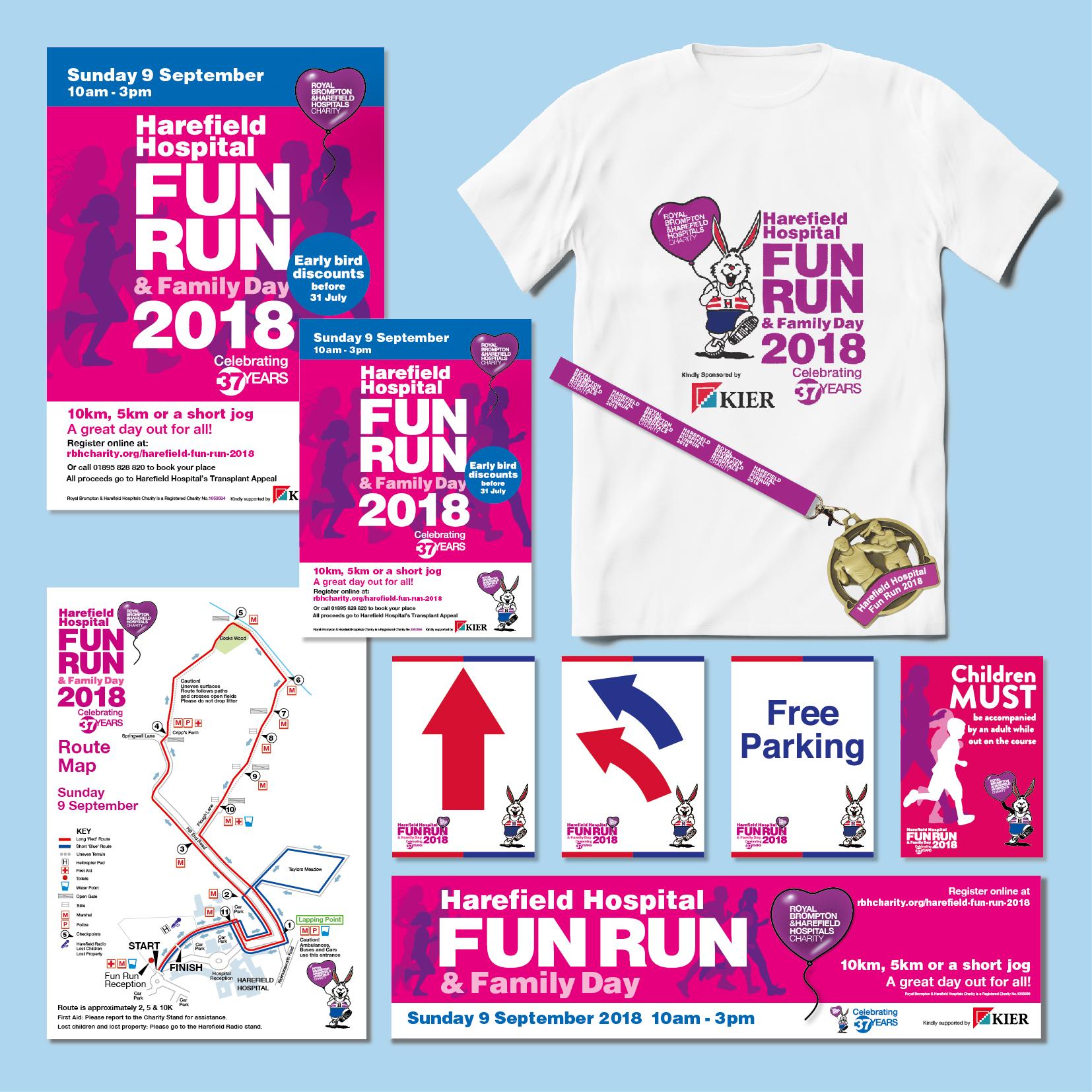 RBHHC Fun Run Event Branding