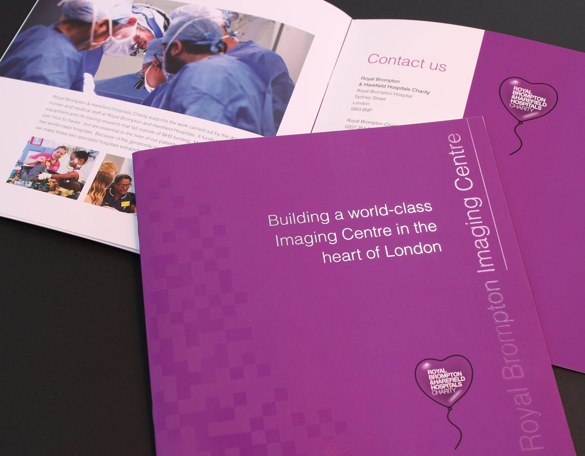 RBHHC Imaging Booklet Design