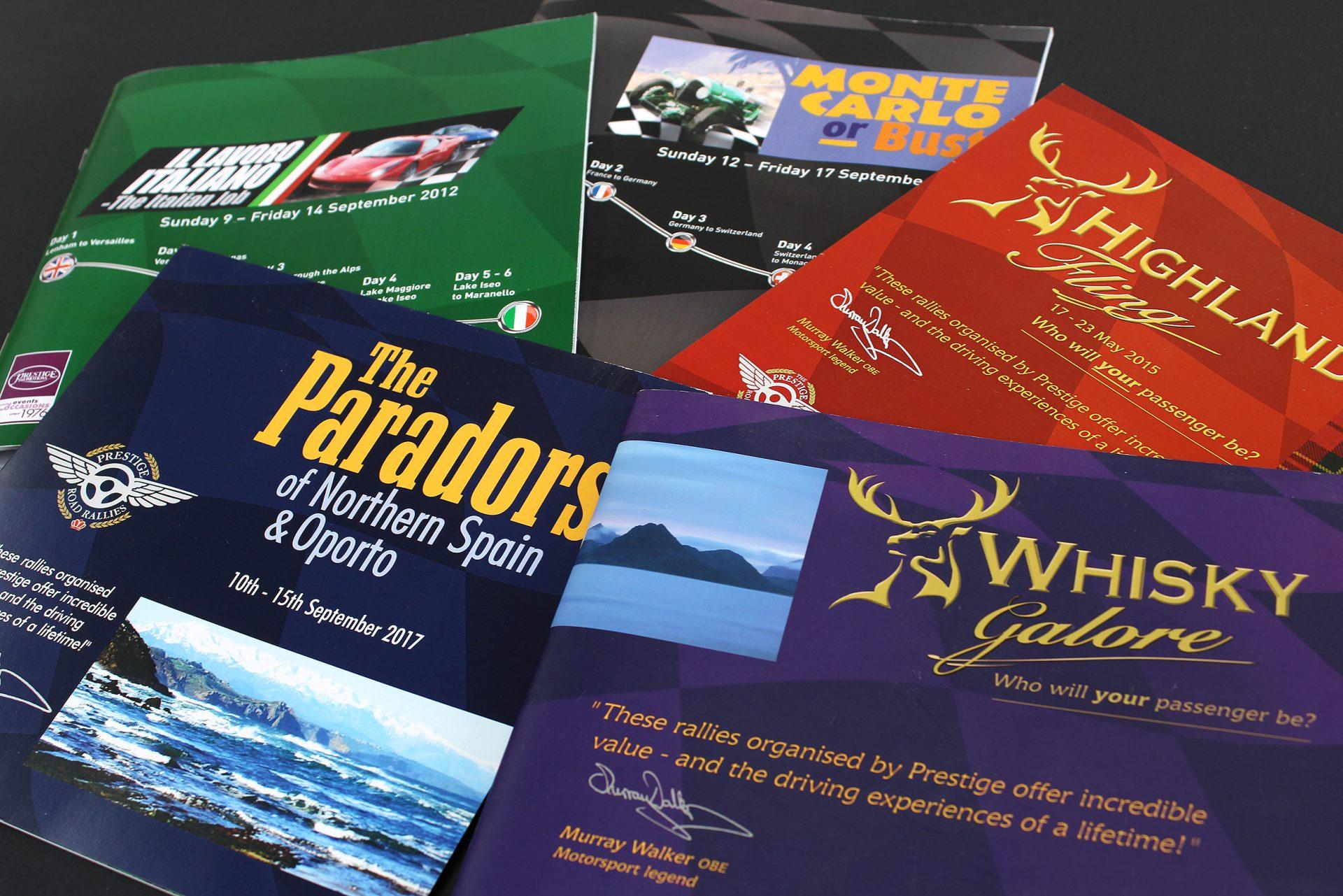 Driving Event Brochures