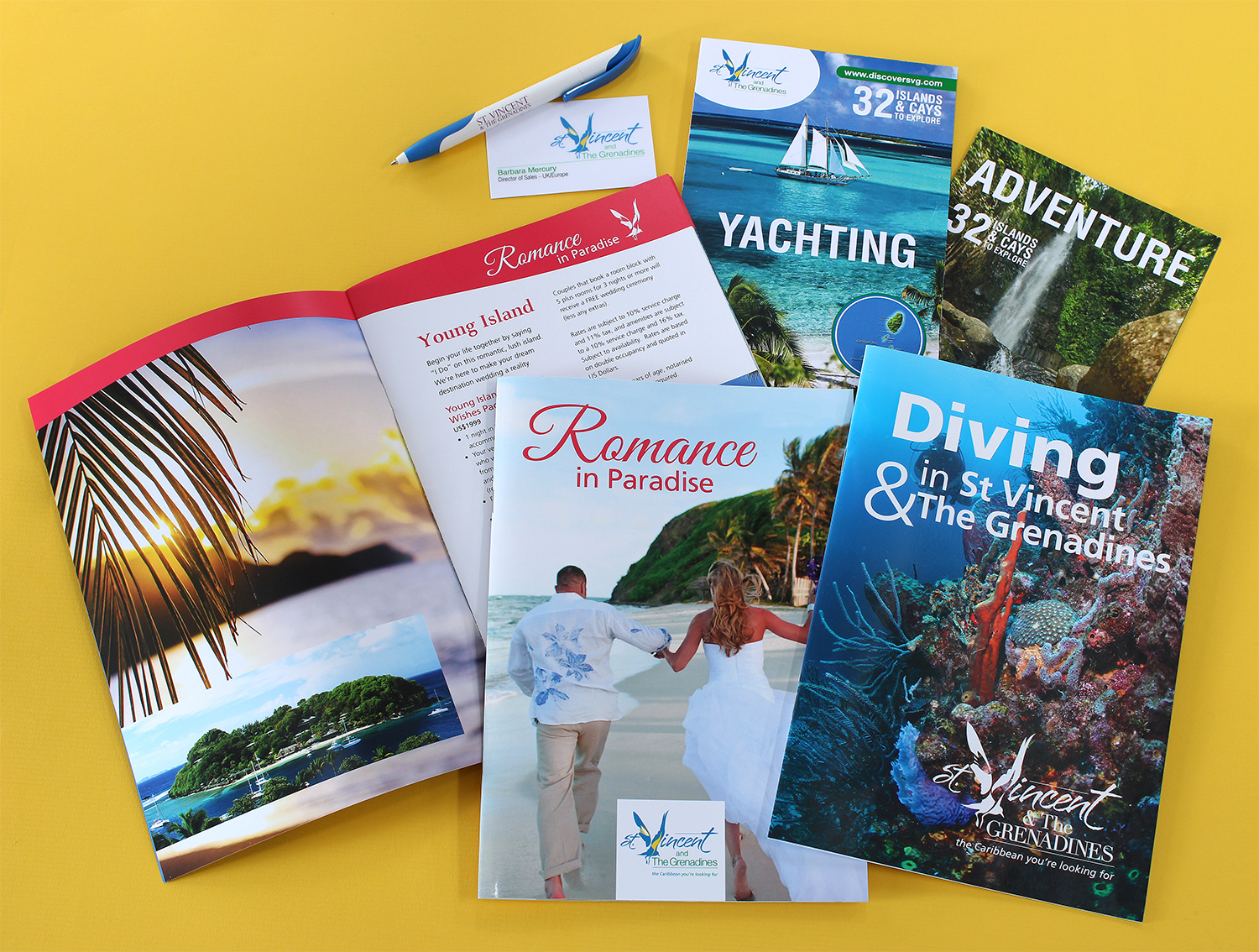 Travel Holiday Branded Brochures