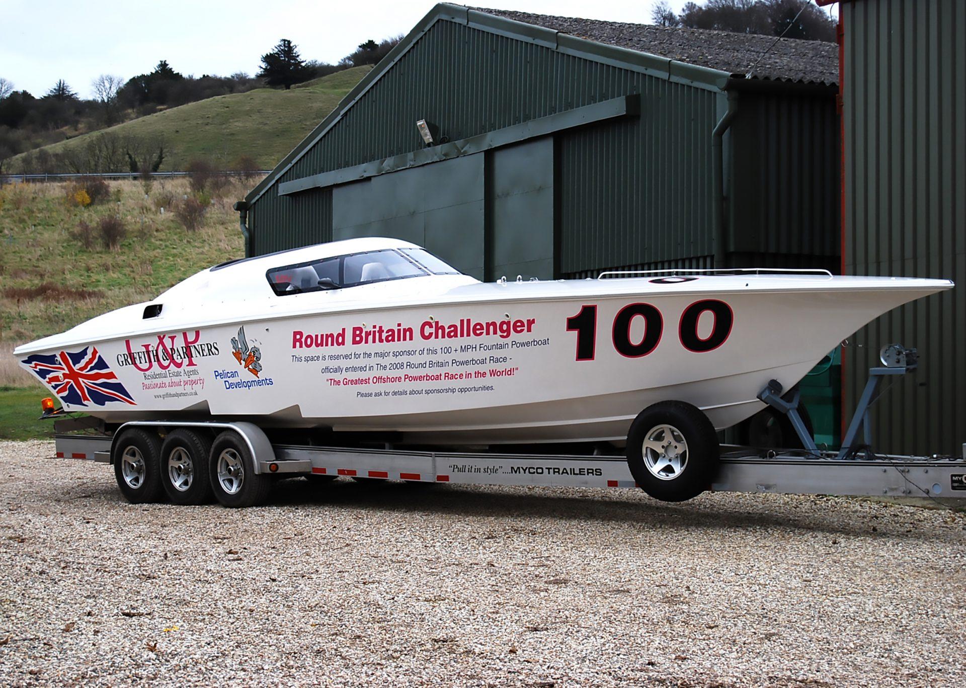 Challenger Speedboat